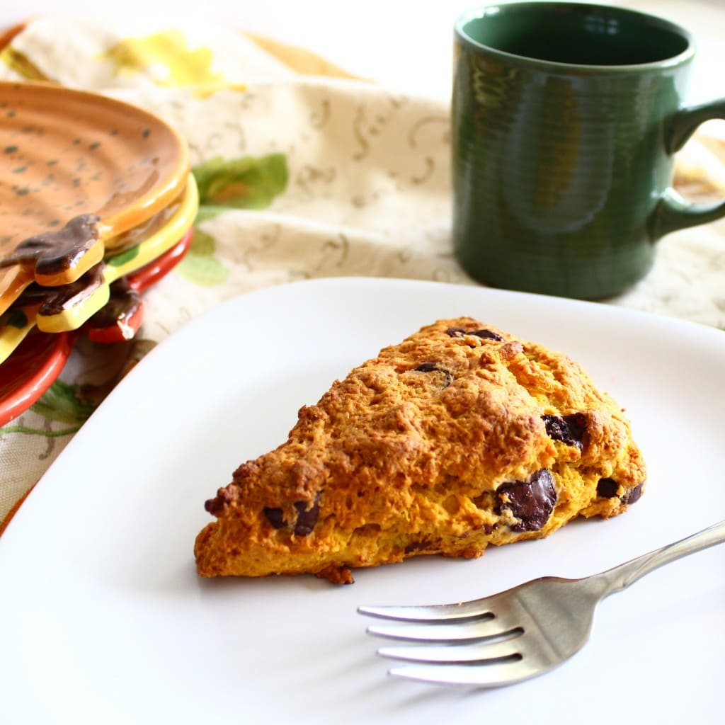 Scones Studded With Pumpkin Pie Spice Chips Recipes — Dishmaps