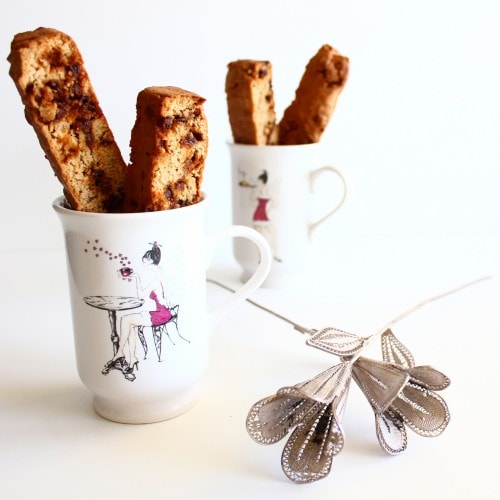 Post image for Confession # 31: I like my biscotti crunchy… Cinnamon Chip Biscotti