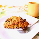 Thumbnail image for Confession #33: I'm warming up to walnuts… Pumpkin Raisin Walnut Scones