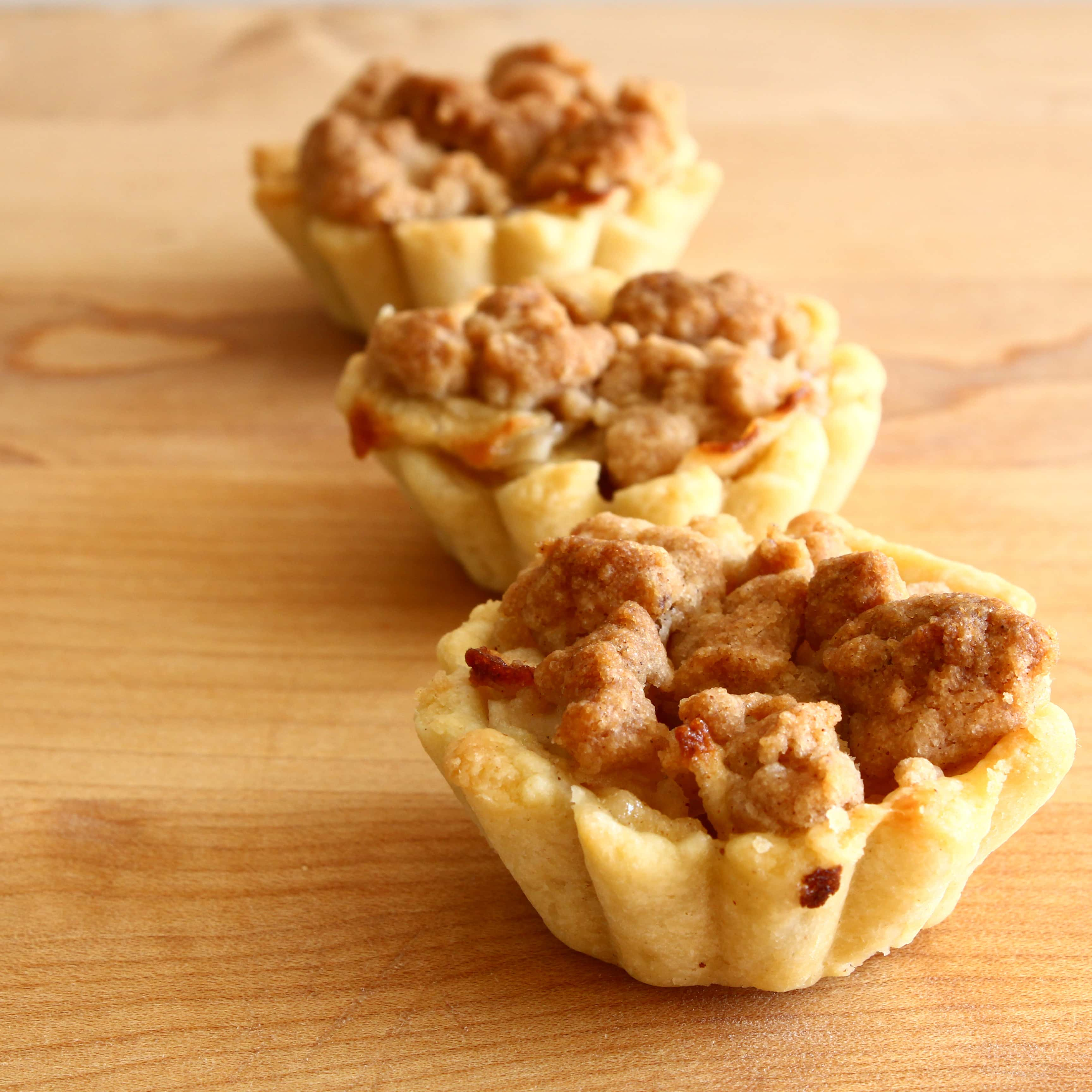 Confession #41: I've never made apple pie before… Mini Apple Pies