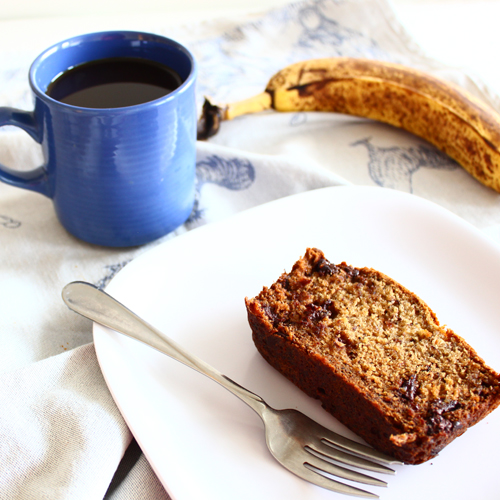 Post image for Confession #46: I have a family of monkeys… Chocolate Espresso Banana Bread