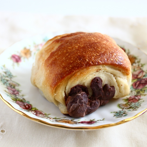 Pain au Chocolat from Confessions of a Bright-Eyed Baker