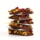 Thumbnail image for Confession #51: I have my own dark chocolate philosophy… Pistachio and Cranberry Dark Chocolate Bark {GF, Vegan}