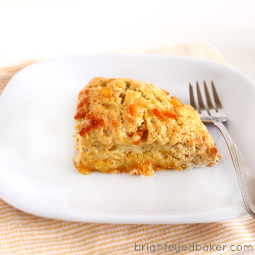 ... Confession #49: I'm all up for a challenge… Glazed Orange Scones