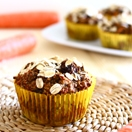 Thumbnail image for Confession #69: It's all about the balance… Carrot Raisin Walnut Bran Muffins {Dairy-Free}