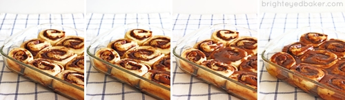 Glazed Cinnamon Roll Perfection in 4 Steps