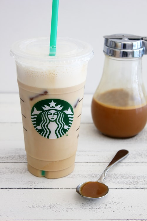 Iced Caramel Latte 2