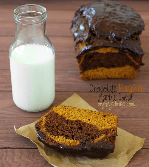 Post image for Confession #91: I drive myself crazy… Chocolate Pumpkin Marble Bread