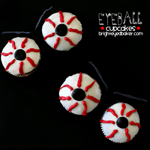 Post image for Confession #90: I bet you CAN scare me… Eyeball Cupcakes