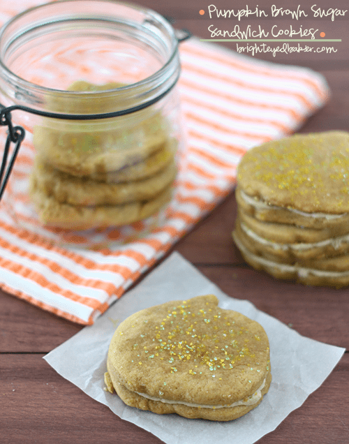 Post image for Confession #93: I don't lick the bowl… Pumpkin Brown Sugar Sandwich Cookies