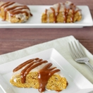 Thumbnail image for Confession #92: I'm Obsessed… Glazed Pumpkin Scones with Caramel Drizzle