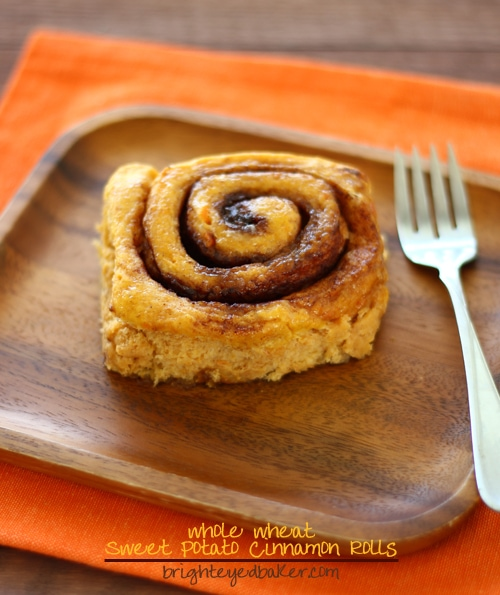 Post image for Confession #95: I'm a planner… Sweet Potato Cinnamon Rolls
