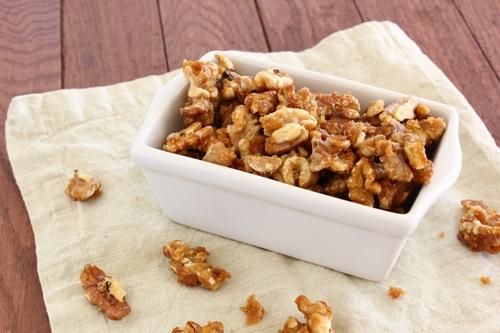 Brown Sugar Candied Walnuts