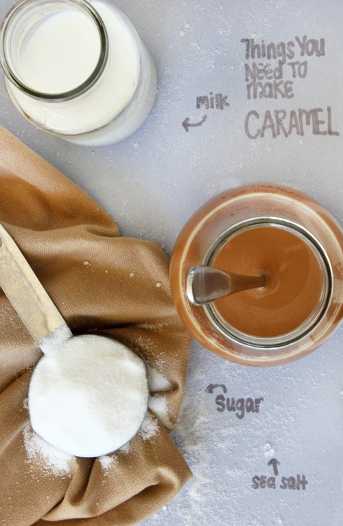 DIY Caramel Sauce from Confessions of a Bright-Eyed Baker