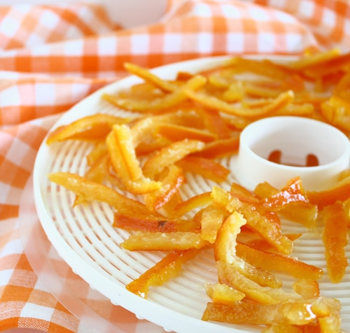 DIY Candied Orange Peel from Confessions of a Bright-Eyed Baker