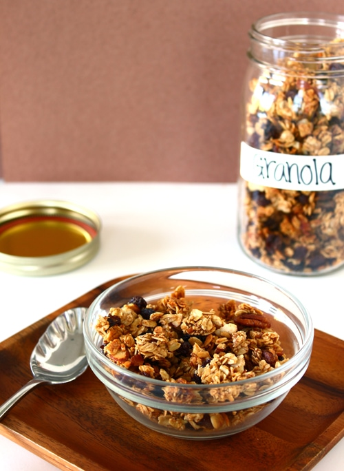 Have-It-Your-Way Granola from Confessions of a Bright-Eyed Baker