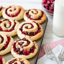 Chocolate Cranberry Sweet Rolls