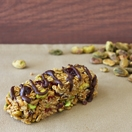 Chocolate-Drizzled Cranberry and Pistachio Bar