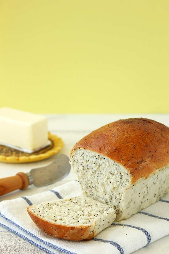 Poppy Seed Loaves from Confessions of a Bright-Eyed Baker
