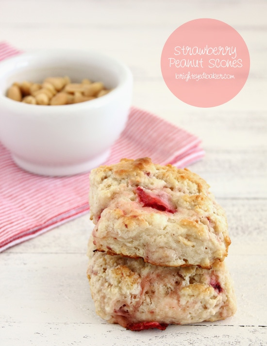 Post image for Confession #108: I'm Finally Growing Up… Strawberry Peanut Scones