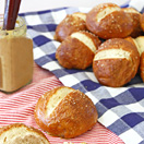 Pretzel Rolls from Confessions of a Bright-Eyed Baker