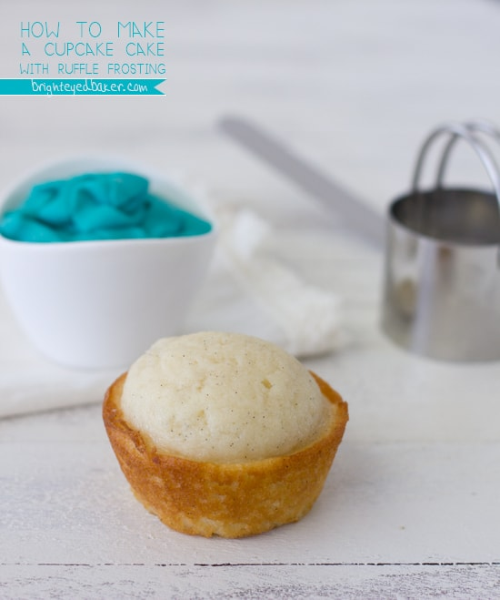 Post image for How to make a Cupcake Cake with Ruffle Frosting