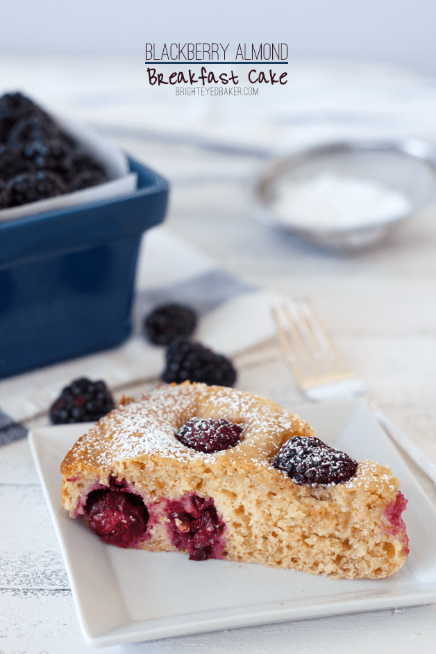 ... #120: I could get used to this… Blackberry Almond Breakfast Cake