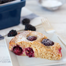 Thumbnail image for Confession #120: I could get used to this… Blackberry Almond Breakfast Cake