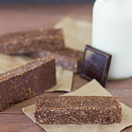 Healthy Dark Chocolate No-Bake Bars - rich and chocolate-y oat and nut bars that are completely healthy! | www.brighteyedbaker.com