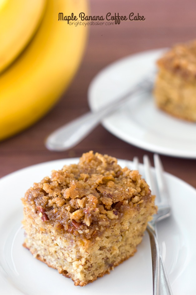 Post image for Confession #122: Food distracts me… Maple Banana Coffee Cake