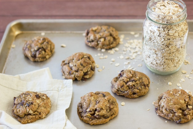 Oatmeal Raisin Cookies from Confessions of a Bright-Eyed Baker