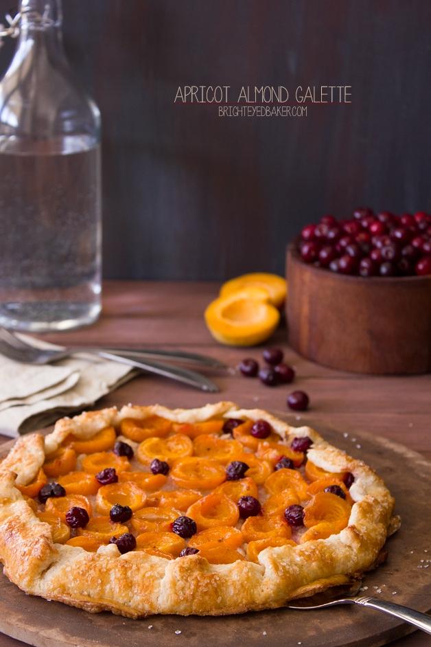 Apricot Galette | brighteyedbaker.com