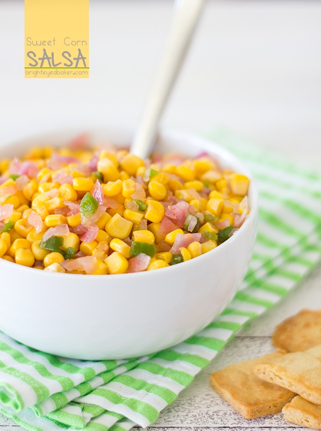 Post image for Let's Get Cookin': Sweet Corn Salsa