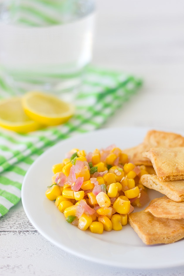 Sweet Corn Salsa | brighteyedbaker.com