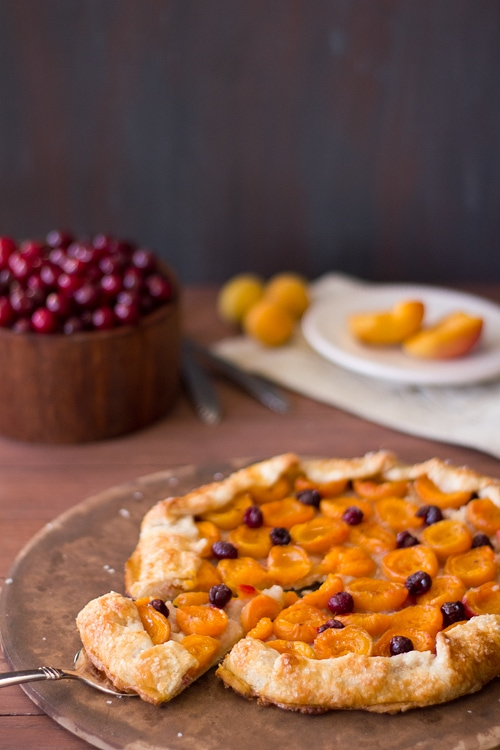 Apricot Almond Galette | 4th of July Recipe Roundup from brighteyedbaker.com