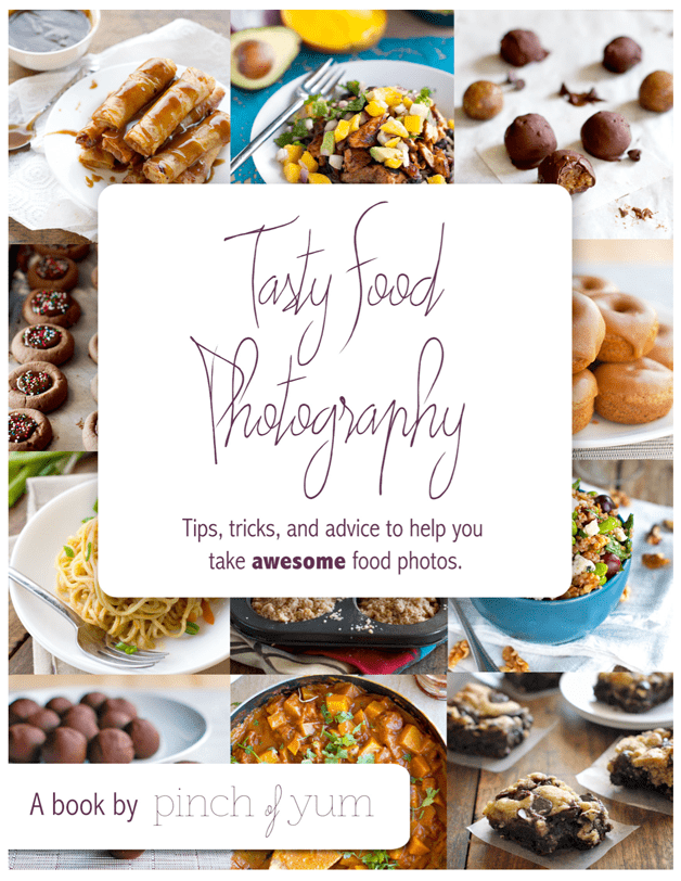 Tasty Food Photography eBook Cover