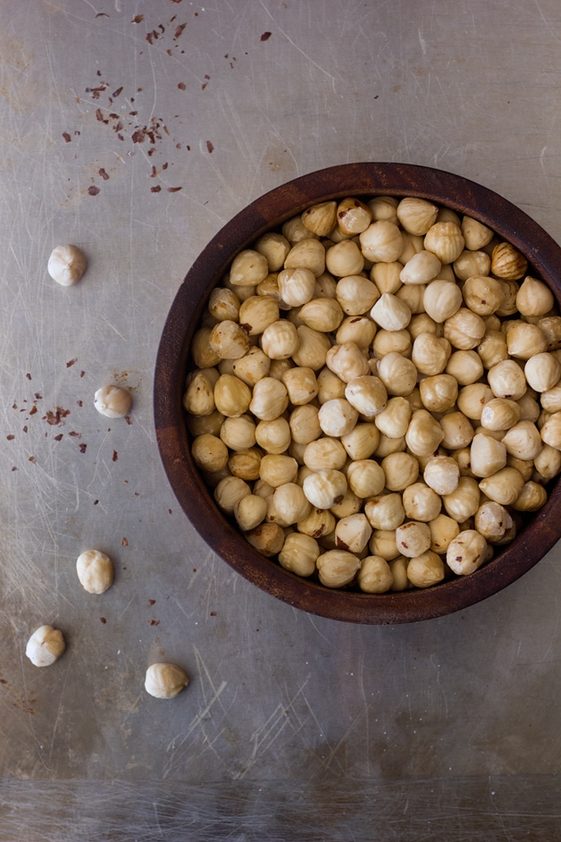 How to Toast and Skin Hazelnuts | brighteyedbaker.com