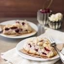 White Chocolate Cherry Scones | brighteyedbaker.com