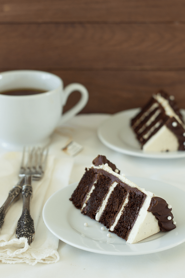 Chocolate Chai Cake with Chai-Infused Chocolate Ganache and Chair Whipped Cream   Confessions of a Bri
