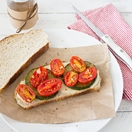 Thumbnail image for Let's Get Cookin': Sautéed Tomato, Zucchini, and Mozzarella Sandwich