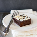 Peppermint Mocha Brownies - an easy and irresistible holiday dessert! From Confessions of a Bright-Eyed Baker @brighteyedbaker