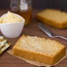 Honey and Beer Cornbread - a fusion of beer bread and cornbread that's tender and perfectly sweet, with crisp edges sweetened by an incredible honey butter glaze. Plus, it's super easy to make!   brighteyedbaker.com
