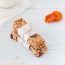 Cranberry-Apricot Almond Butter Granola Bars