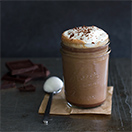 Creamy Triple Chocolate Mocha - a blend of three chocolate make for a dreamy coffee-house style mocha that couldn't be easier to make.