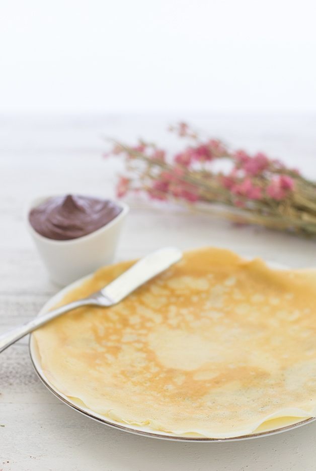 Easy crepe recipe without butter