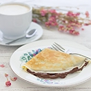 Easy Nutella Crêpes - no extra time or special equipment needed for this small-batch crêpe recipe for light, sweet crêpes.   brighteyedbaker.com