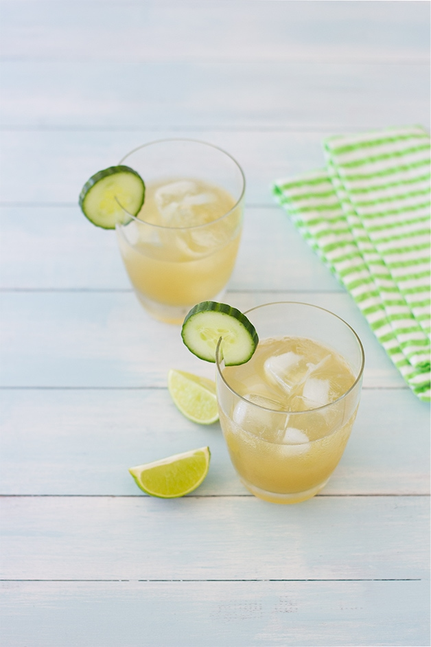 Half Windsor Cocktail Recipe (vodka, cucumber, lime, and agave) + Tips for Throwing a Fantastic Outdoor Party | brighteyedbaker.com