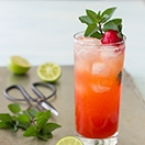 Strawberry Mojitos - a fruity twist on a classic cocktail from @brighteyedbaker | brighteyedbaker.com #cocktail #recipe