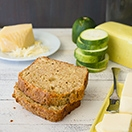 Savory Zucchini, Cheese, and Black Pepper Quick Bread {with Pesto!} | www.brighteyedbaker.com