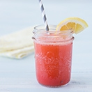 Sparkling Strawberry Lemonade Cooler